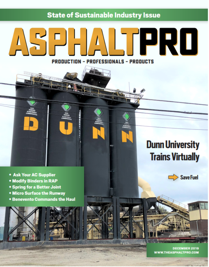 Cover Feature in AsphaltPro Magazine